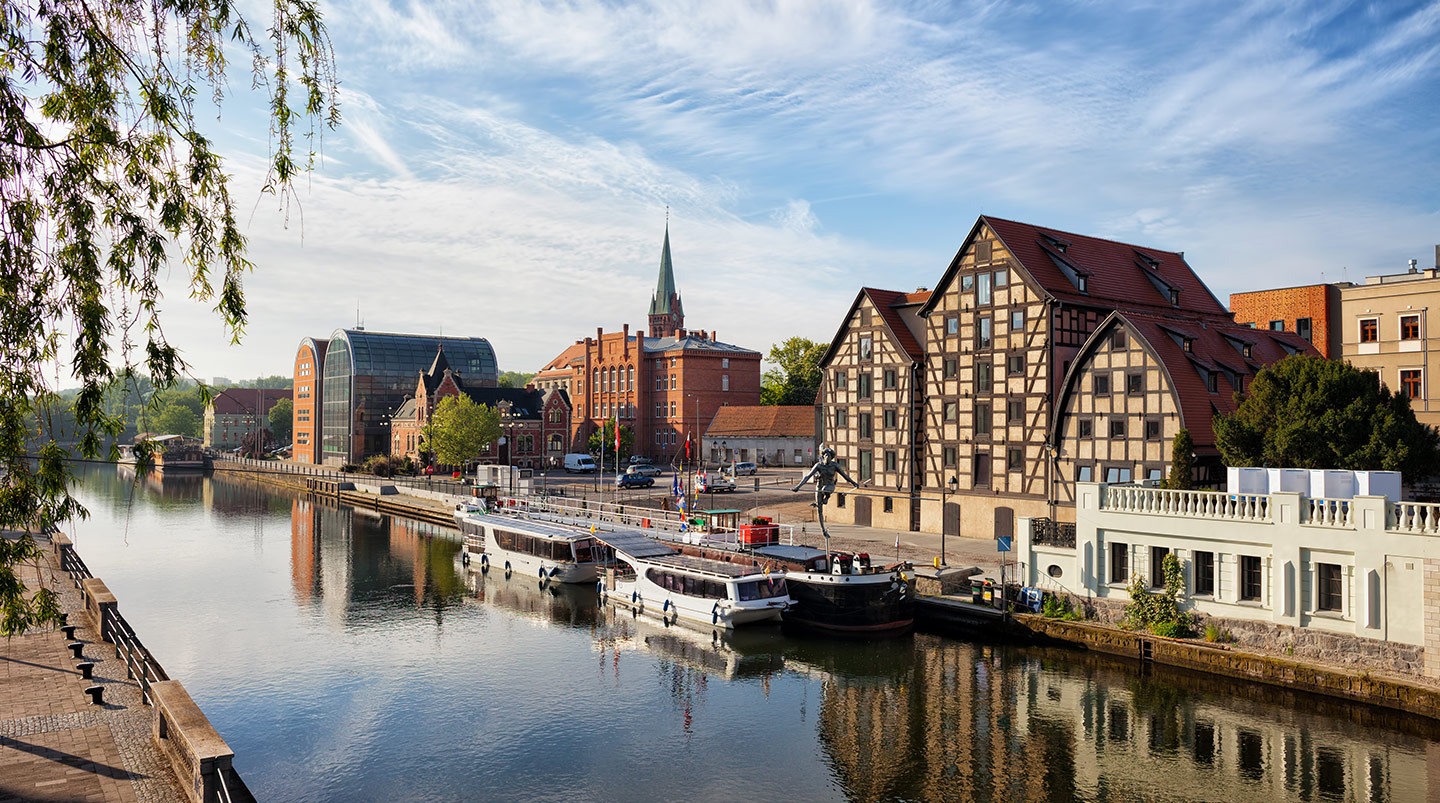 BYDGOSZCZ - a great place to live