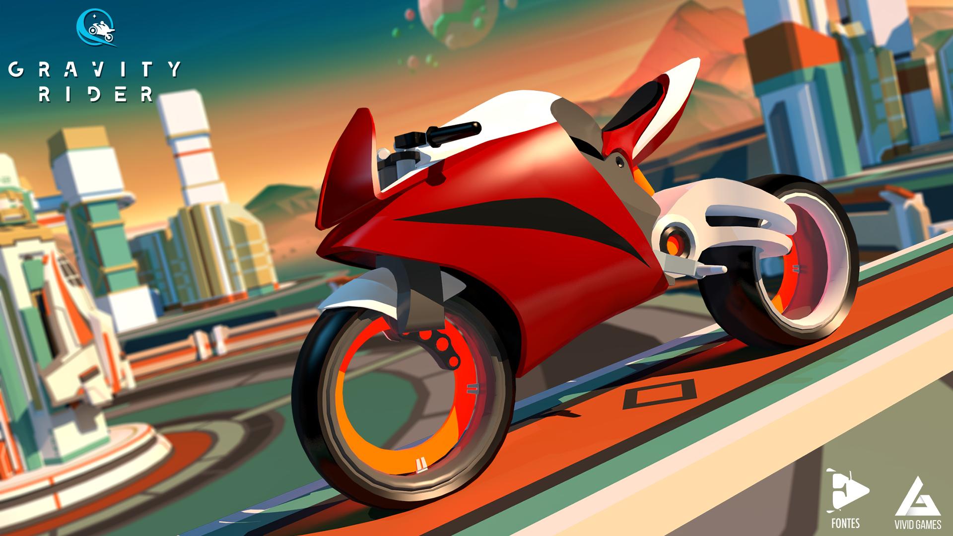 Gravity Rider   Mobile game   Vivid Games   App Store