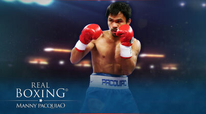 Manny Pacquiao enters the ring again!