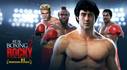 Real Boxing 2 ROCKY™ 1st anniversary.