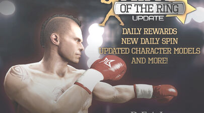 Real Boxing® King of the Ring Update